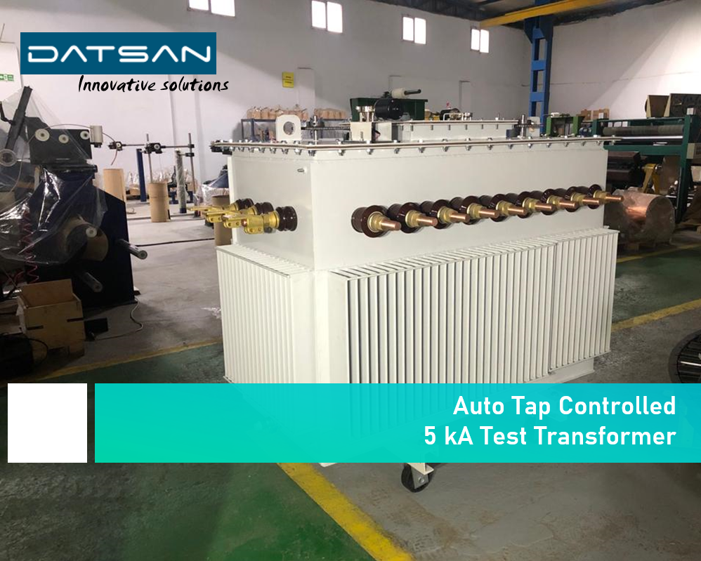 5 kVA Auto Tap Controlled Test Transformer