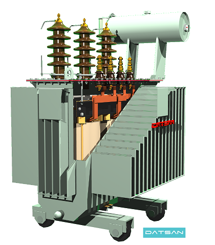 250 kVA - 630 kVA Oil Immersed Distribution Transformer