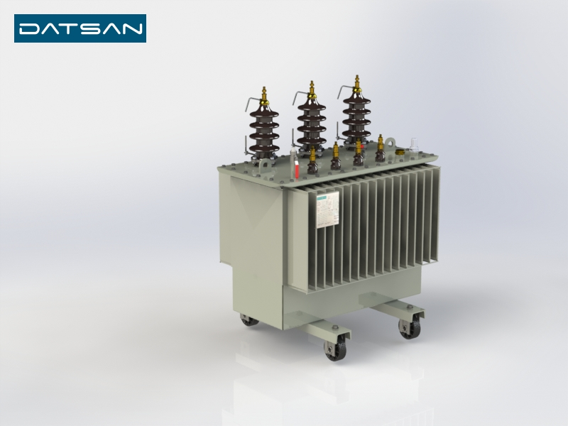 100 kVA 11/0.4 kV Aluminium Winding EcoDesign Transformer