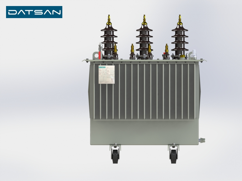 100 kVA 33/0.4 kV Copper Winding Standard Losses Transformer