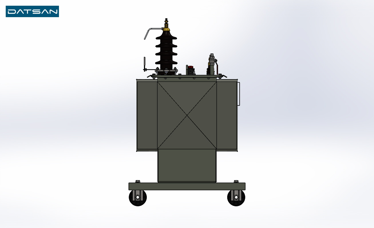 100 kVA 6.3/0.4 kV Aluminium Winding EcoDesign Transformer