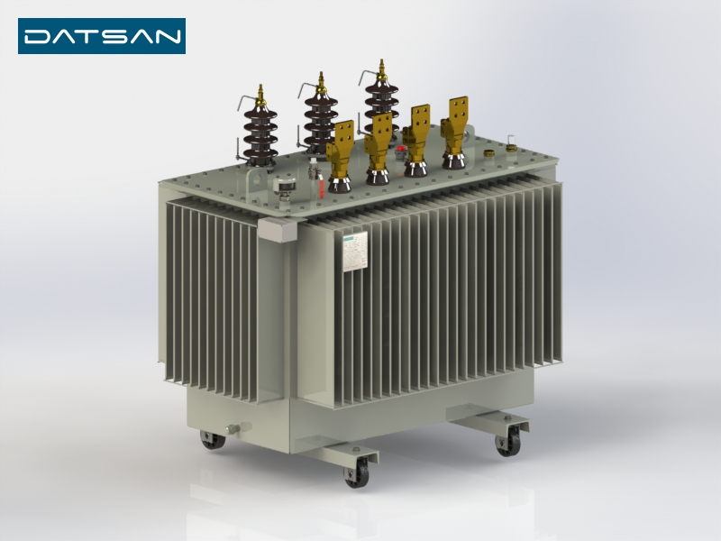 1250 kVA 6.3/0.4 kV Aluminium Winding Standard Losses Transformer