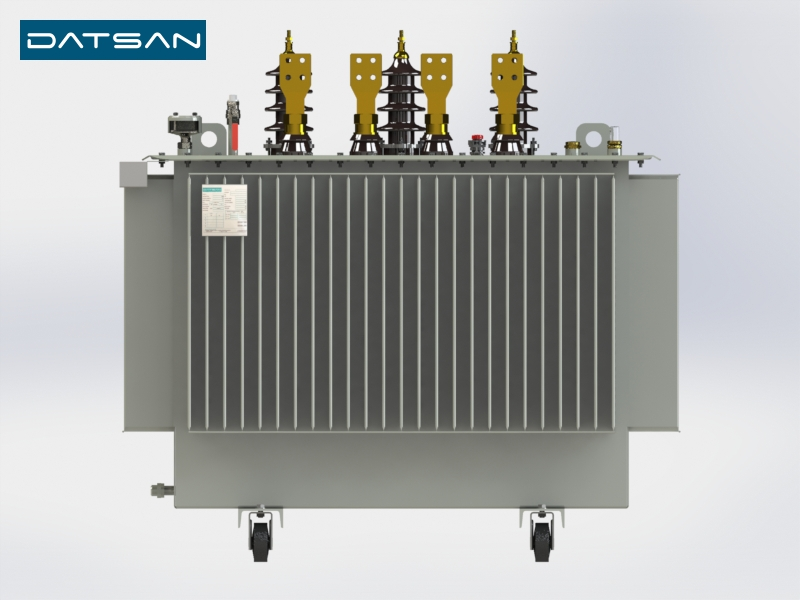 1250 kVA 6.3/0.4 kV Copper Winding Standard Losses Transformer