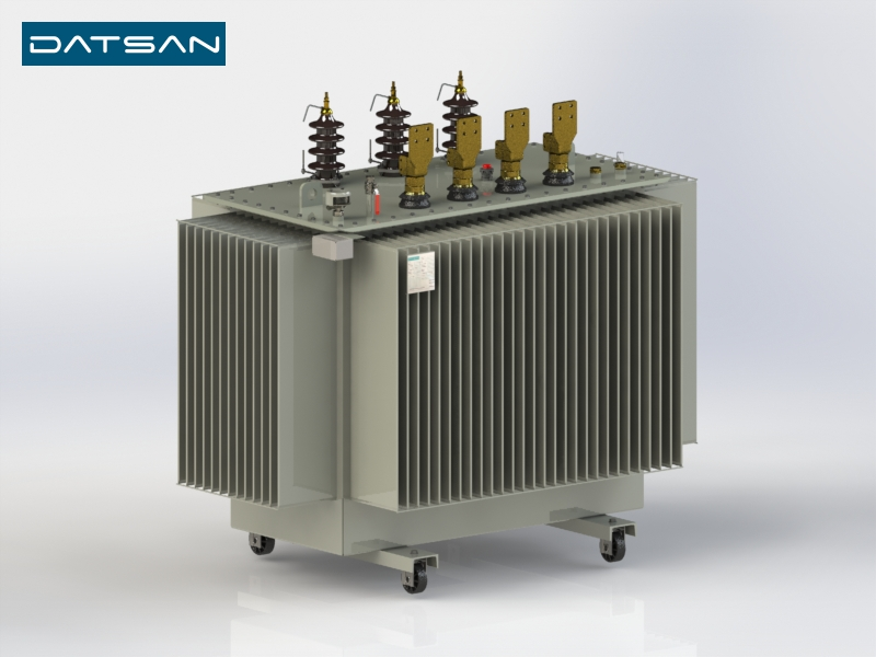 2000 kVA 6.3/0.4 kV Aluminium Winding Standard Losses Transformer