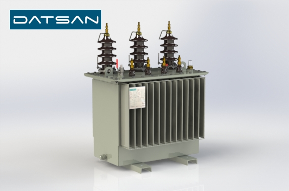 50 kVA 11/0.4 kV Copper Winding EcoDesign Transformer