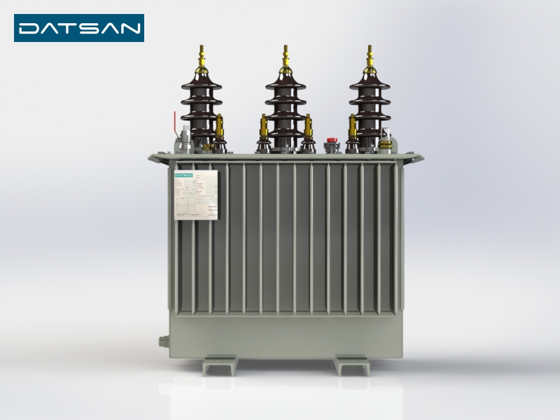 50 kVA 33/0.4 kV Aluminium Winding Standard Losses Transformer