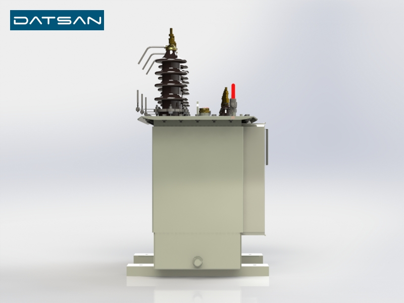 50 kVA 11/0.4 kV Aluminium Winding Standard Losses Transformer