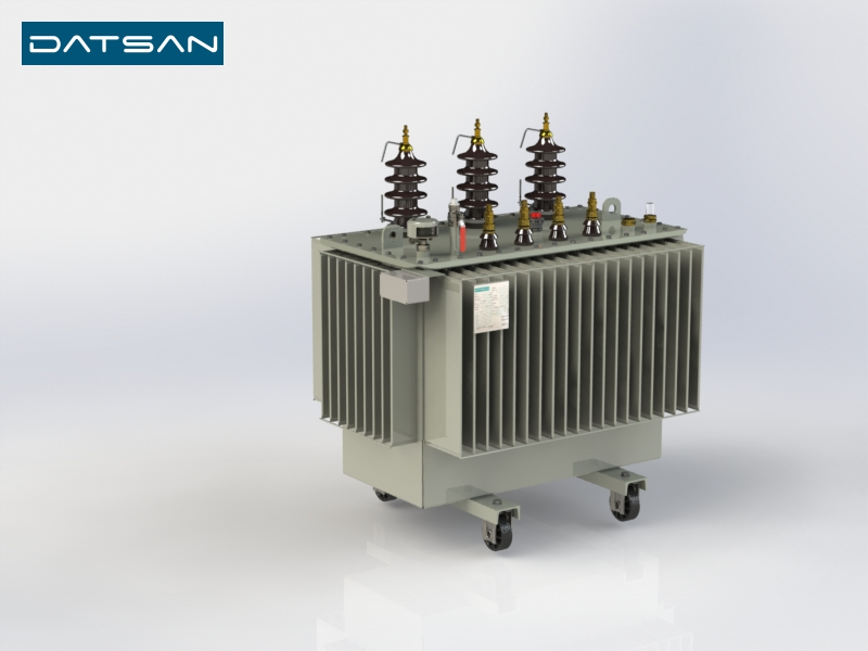 500 kVA 15/0.4 kV Copper Winding Standard Losses Transformer