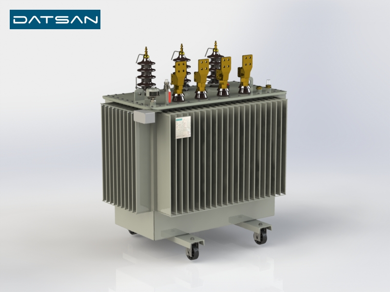 800 kVA 15/0.4 kV Copper Winding Standard Losses Transformer